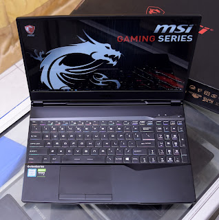 Laptop Gaming MSI GL65-9SEK Core i7 Gen9 Fullset