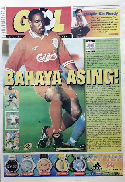 PAUL INCE FROM LIVERPOOL