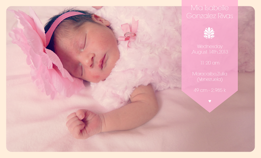 Mia's Birth Story ♥