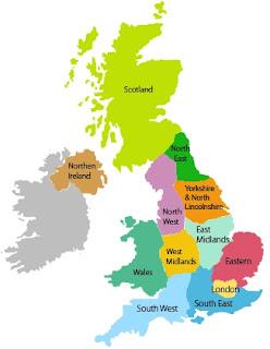 Carta regionale del Regno Unito