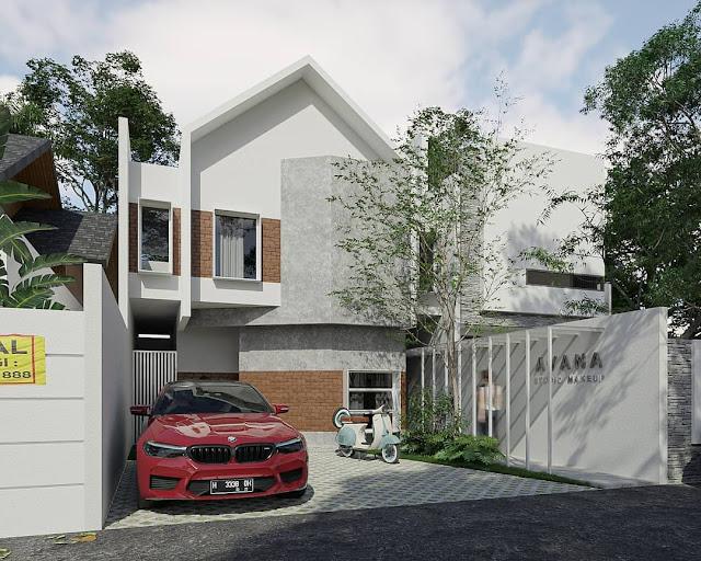 desain rumah minimalis cantik dan unik