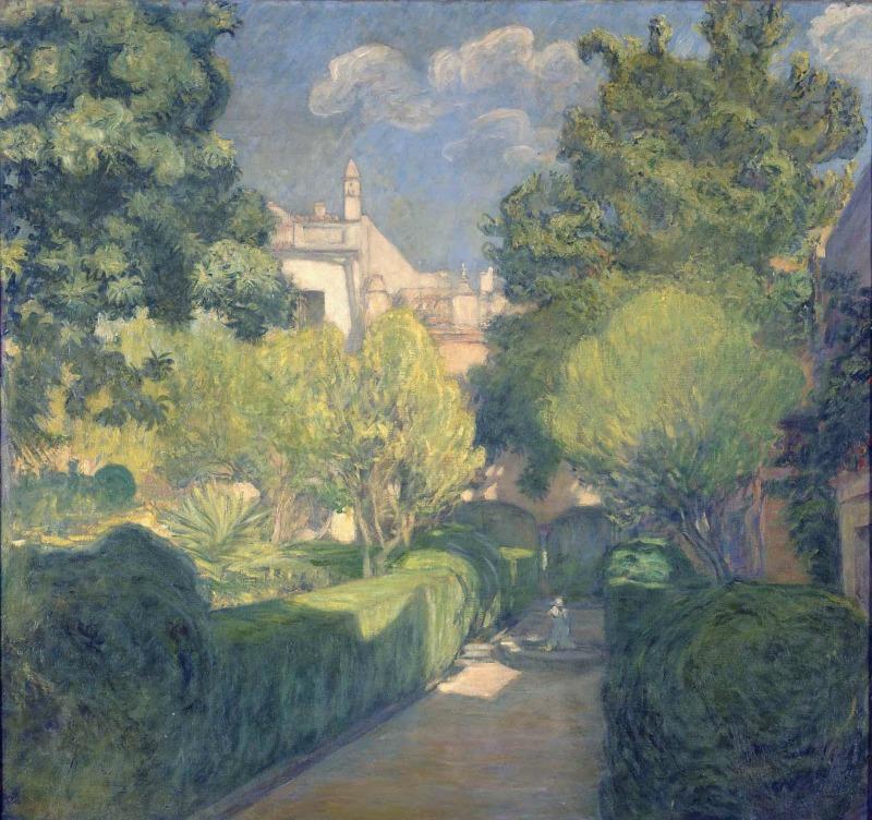 Jardín de los Cepero (Sevilla) 1910 | Javier de Winthuysen y Losada