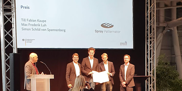EMO Hannover 2019 - Spray Pattenator wurde ausgezeichnet