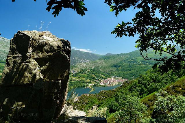 Embalse de Rioseco - Ruta de la Sierra del Crespón