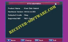 Ali 3510c HW003 Receiver Software Dolby Audio USB Update