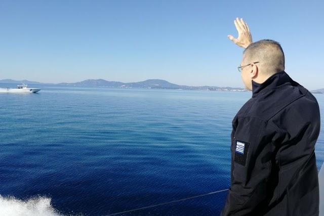 Ο Αλκιβιάδης Στεφανής στα ελληνοαλβανικά σύνορα ως «υπουργός» Μετανάστευσης ή ως ΥΦΕΘΑ;
