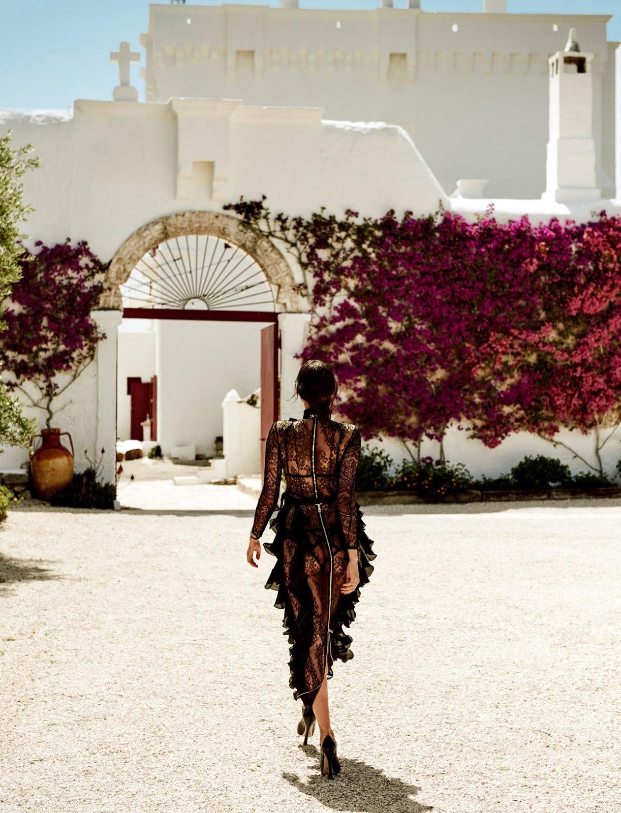 Irina Shayk by Giampaolo Sgura for Vogue Japan September 2016