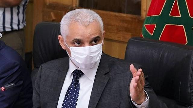 وزير الصحة خلال اجتماع المجلس الحكومي اليوم يدق ناقوس الخطر بشان الوضع الوبائي خاصة بالدارالبيضاء