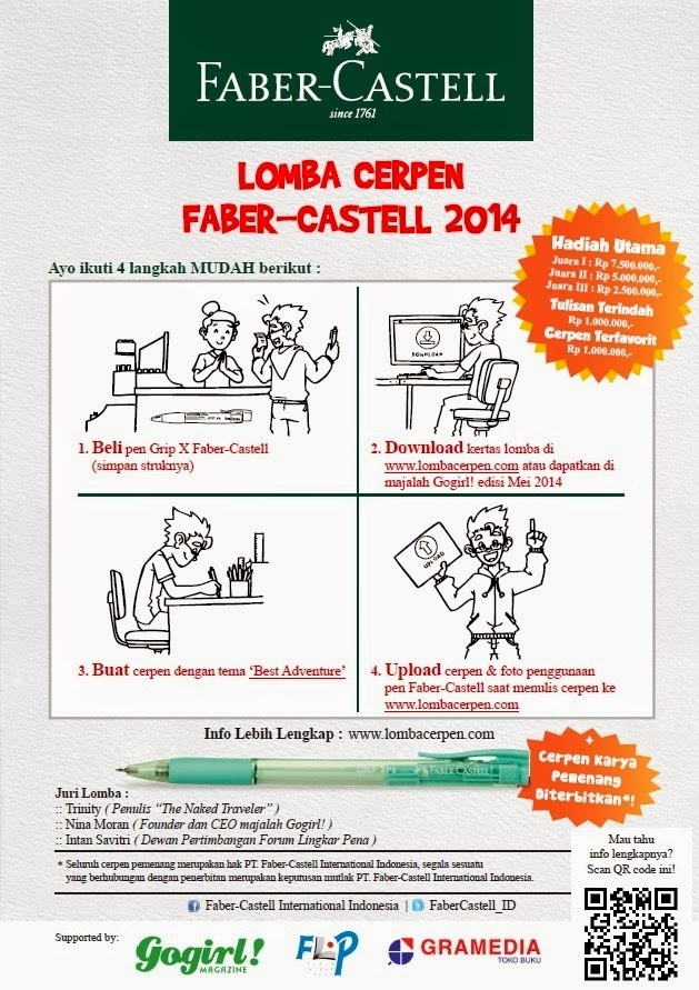 lomba cerpen fabercastell 2014