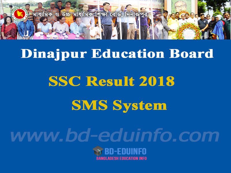Dinajpur Board SSC Results 2018