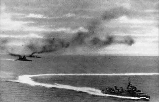 Force Z attacked by Japanese planes near Singapore 10 December 1941 worldwartwo.filminspector.com