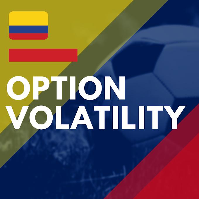 Option volatility