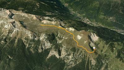 GPS bivacchi del pian dele nana