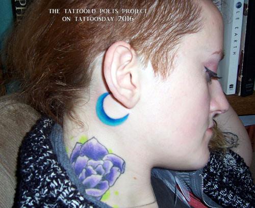 Tattoosday A Tattoo Blog The Tattooed Poets Project Zann Carter