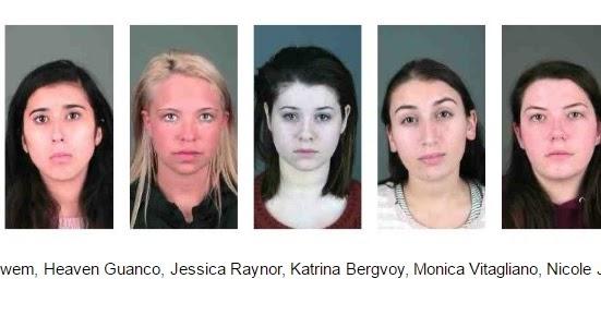 Salisbury News Seven College Sorority Members Arrested In -8929
