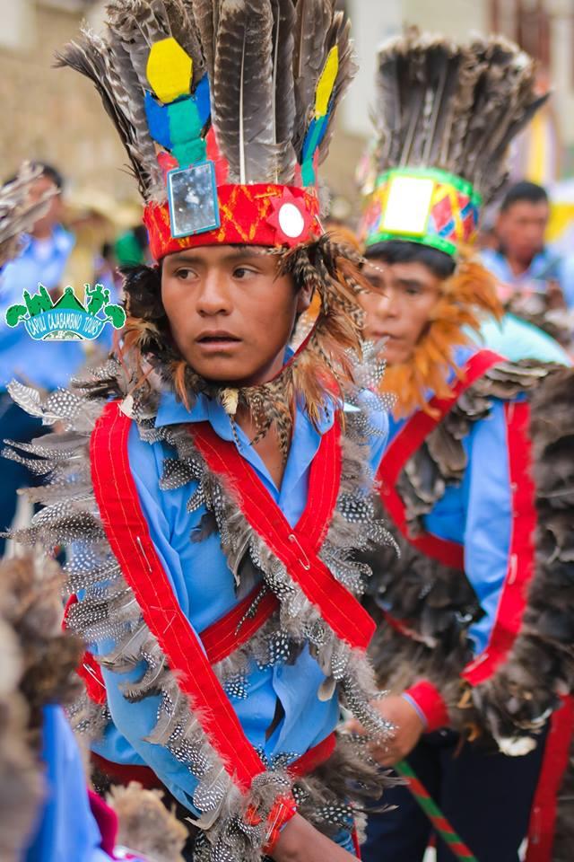 Danza los emplumados de Cajabamba