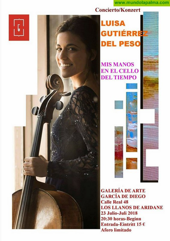 Concierto Luisa Gutiérrez del Peso en Los Llanos de Aridane
