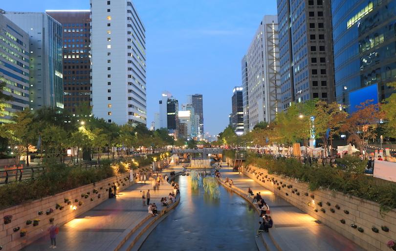 اجمل مدن كوريا الجنوبية