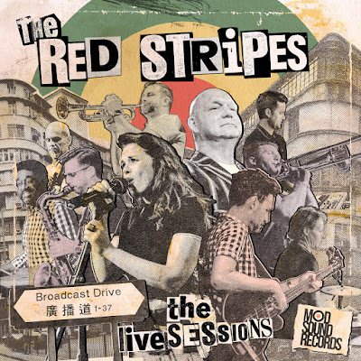 The cover features a collage of photographs of each band member performing.