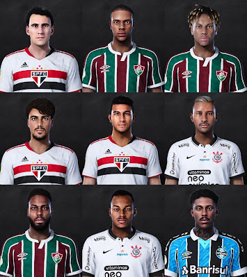 PES 2021 Brasileiro FacePack