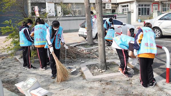 鹿港鎮公所招募學生環保志工 清掃家園展現服務精神