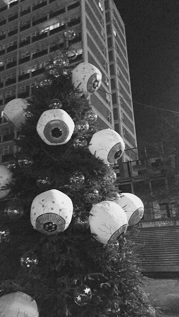 Eyeball christmas tree