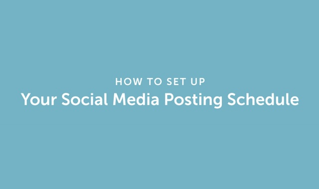 How to Set Up Your Social Media Posting Schedule