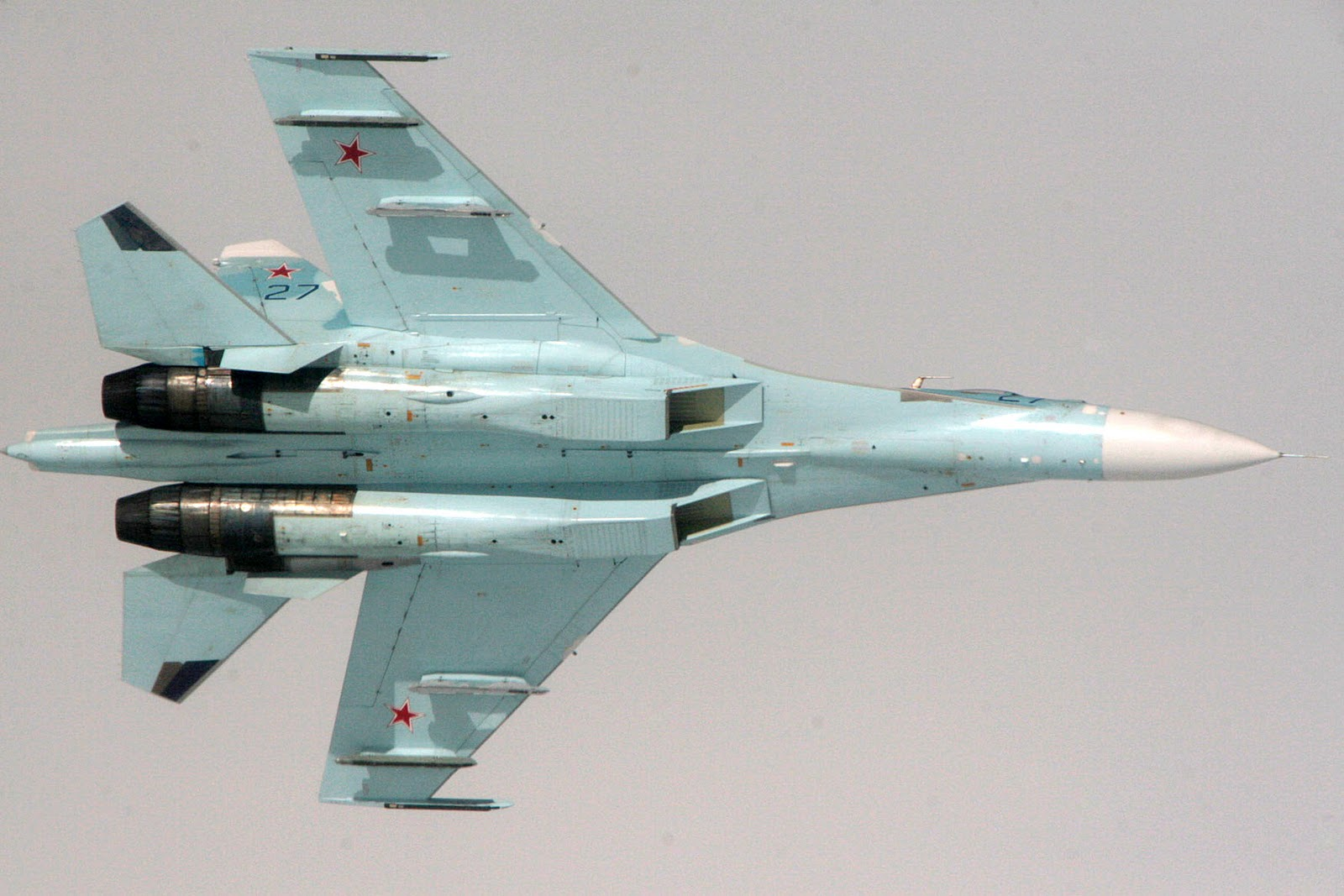 Military Information House: Sukhoi Su-27
