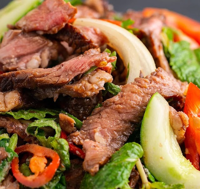 HOW TO: ULTIMATE THAI BEEF SALAD