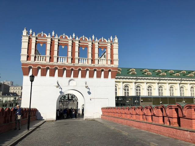 Torre Kutafya - Kremlin