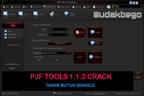 PJF Tools 1.1.3 Crack Tanpa Butuh Dongle (Gratis)