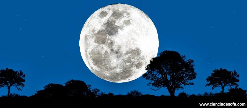 Por qu siempre vemos la misma cara de la luna ciencia for Que dia lunar es hoy