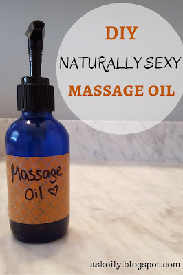 DIY Naturally Sexy Massage Oil How To | Hot Pink Crunch
