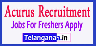 Acurus Recruitment 2017 Jobs For Freshers Apply