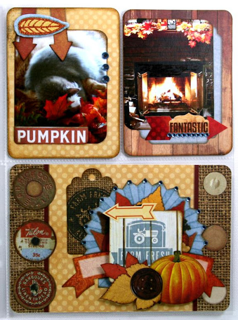 Market Love Fall Misc Me Layout by Ginny Nemchak using BoBunny Farmers Market Collection
