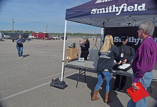 Cutting it close at the 2019 Smokin' with Smithfield National Barbecue Championship
