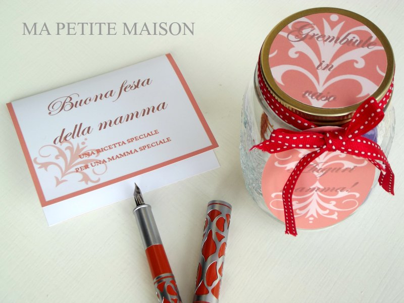 Printables set: Etichetta, tag e card per la festa della mamma