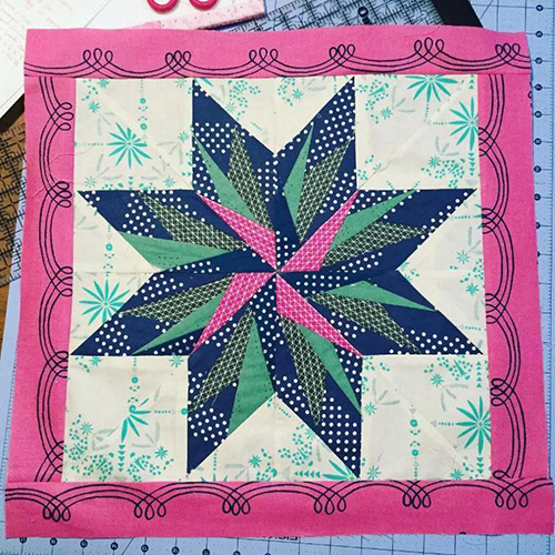 Bird Of Paradise - Paper Piecing free Quilt Pattern