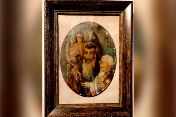 Donan una rara pintura del Beato Fray Diego José de Cádiz a la Hermandad del Prendimiento