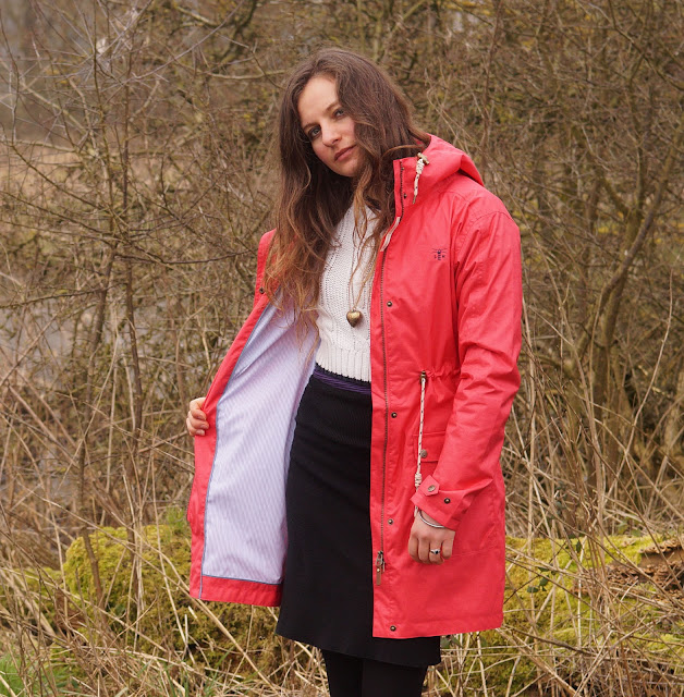 Lighthouse clothing Fayda watermelon waterproof jacket review