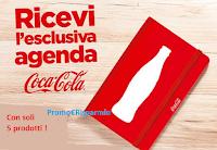 Logo Con Coca-Cola ricevi in regalo la esclusiva Agenda