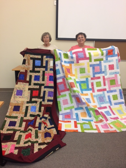Little Bunny Quilts: Frame of Mind -- in action!