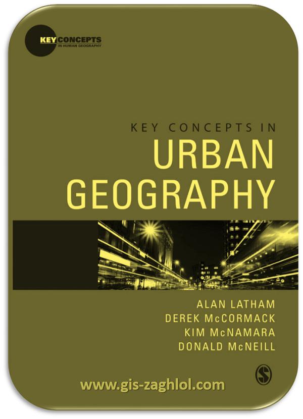 كتاب المفاهيم الاساسية في الجغرافيا الحضرية Key concepts in urban geography