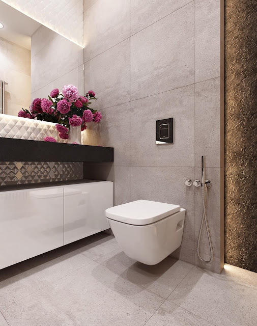 Simple Bathroom Interior Design