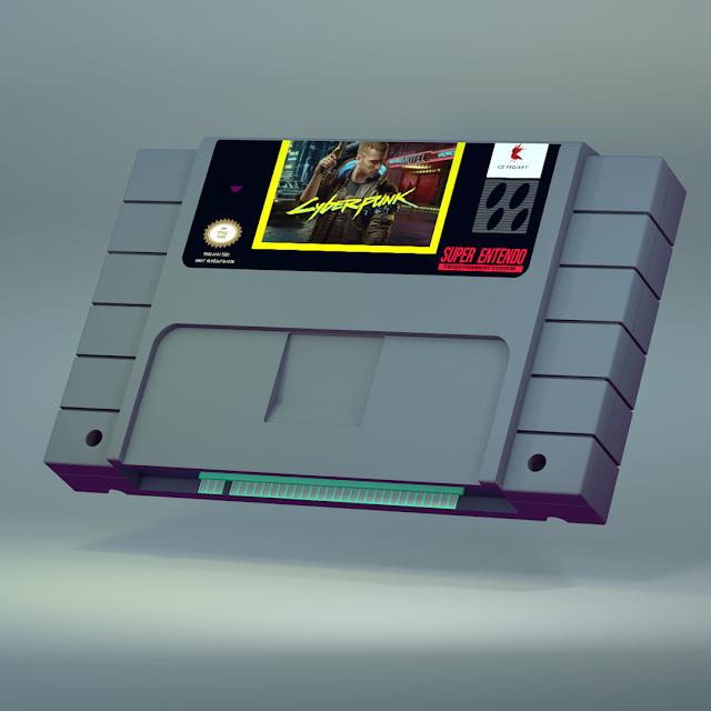 Cyberpunk 2077 en SNES