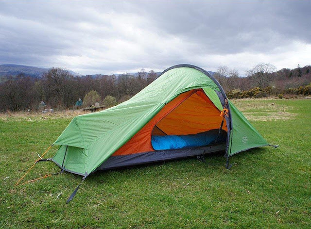 Best wild camping tents reviews Vango Nevis 100 200