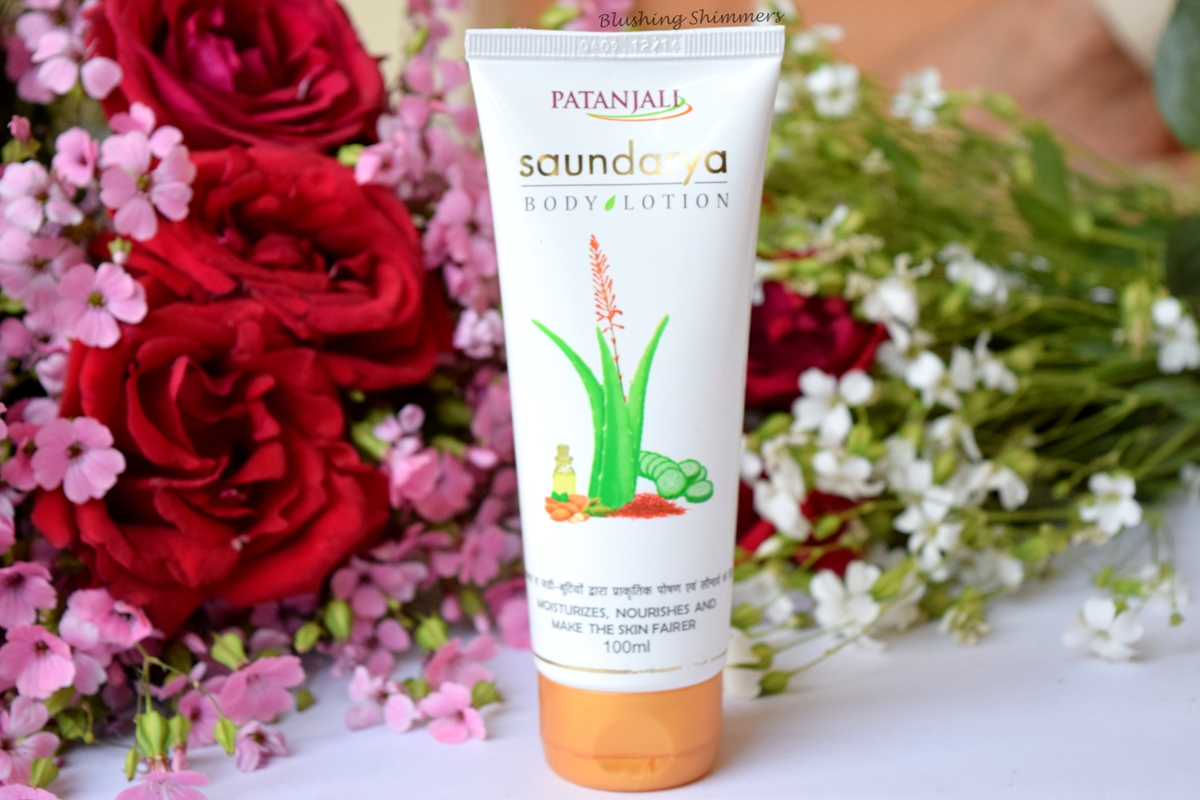 Patanjali Saundarya Body Lotion Review