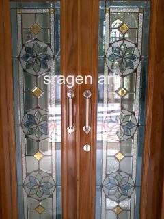Sragen Art : melayani pesanan kaca patri untuk pintu ...