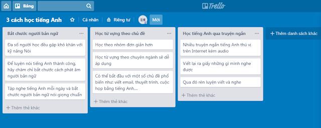 Trello công cụ miễn phí giúp bạn viết lách chuyên nghiệp hơn