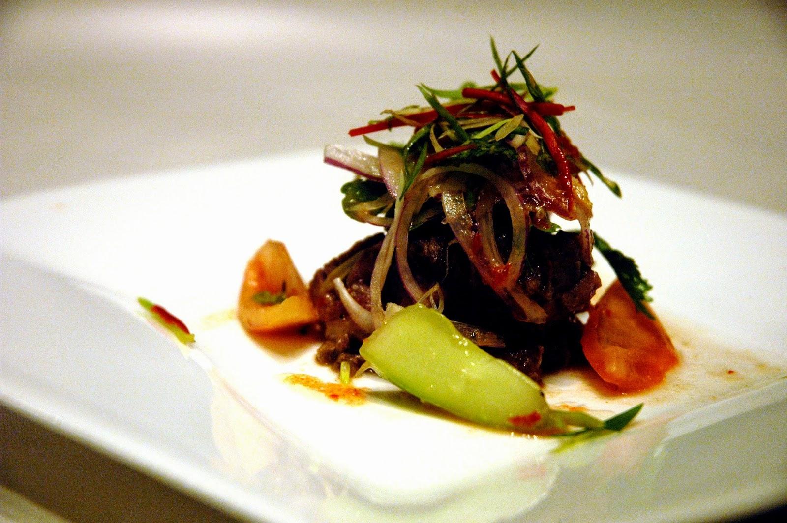 Issaya Restaurant Bangkok Menu